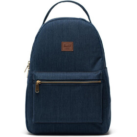 Herschel Nova Mid-Volume Backpack indigo denim crosshatch